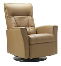 Fjords Ulstein Swing Relaxer Leather Recliner for the Living Room