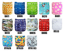 1pcs  healthy washable reuseable  bamboo diapers baby cloth  diapers nappy
