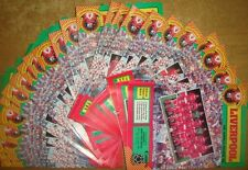 Liverpool Home Programme's 1984-85 Div 1, European Cup, Milk Cup, FA Cup