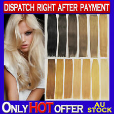 "22"" I Tip Micro Bead 100% Remy Human Hair Extensions Black Brown Blonde"