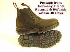Australian Redback Boots UBBK Black all sizes great for work, camping, riding