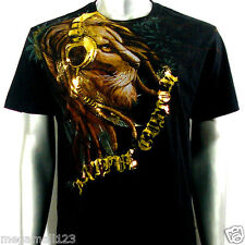 Artful Couture T-Shirt M L XL XXL Lion Music Wild Tattoo Rock Street Biker AB11