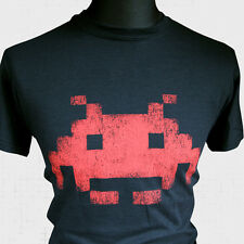 Space Invaders Retro T Shirt Super Hero Vintage Arcade Game Cool Hipster