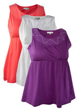 Plus Size Ladies Sleeveless Top by Tommy & Kate