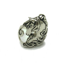 STERLING SILVER RING 925 HORSE UNICORN SOLID NEW SIZE G - V