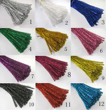 "500pcs Mixed Color CHENILLE STEMS/PIPE CLEANERS 12"" LONG LOT 6 MM THICK"