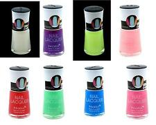 GLOW in the DARK Nail Polish Fantastic Colors or Clear Full Size Bottles NO MINI