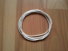 Ø 1.5mm Silica wick rope - high quality - temperature resistance > 1300°C