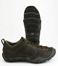 CAT (CATERPILLAR) TERRAIN MEN'S WORK SHOE (MIKE ROWE) DARK BROWN - MEDIUM WIDTH