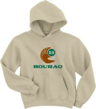 Bouraq Indonesia Airlines Vintage Logo Indonesian Airline HOODY