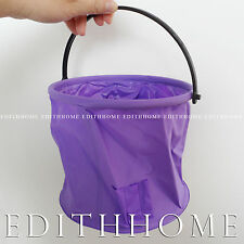 Art Supply- Outdoor Foldable Water Bucket for Washing Paint Brush, Free Shipping