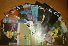 Norwich City Home Programme's 1988-1989  Div 1 + FA Cup ,League Cup + Simod Cup