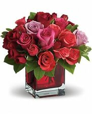 Madly in Love Bouquet with Red Roses T9-3A - Flower Delivery Valentine's Day