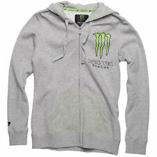 NEW Monster Patrie Hooded Jacket One Industries Sz S,M,L,XL Womens Hoodie Gray