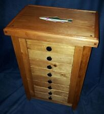 FLY STORAGE CABINET brook brown cutthroat rainbow TROUT steelhead Fly Tying