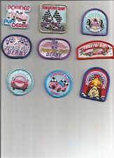 Girl/Boy Scout/Guide Patch/Crest/Badge    POWDER PUFF DERBY   (your choice)