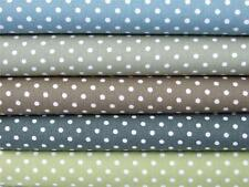 100% cotton Green Sage duck egg Spot 3mm dotty FABRIC for craft quilting bunting