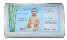 Alva BABY CLOTH DIAPER BIODEGRADABLE FLUSHABLE VISCOSE LINERS