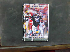 1998   CHICAGO BEARS   MEDIA GUIDE .