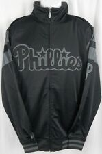 Philadelphia Phillies MLB Licensed Embroidered Tricot Jacket Big & Tall Sizes