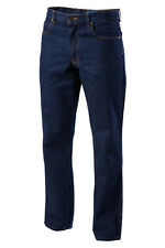 Hard Yakka Workwear 1/4 oz Enzyme Washed Rigid Denim Jeans New