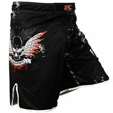 Tigon Pro Fight Gear MMA Shorts Training UFC MMA Grappling Boxing Stretch Short