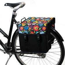 Double Pannier Bag Large 26.6L Bicycle Cycle Bike Shopping Commuters