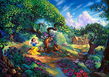 Snow White Childrens Home Decor Canvas Print, choose your size.