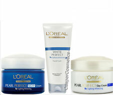 Loreal White Perfect Re-lightening Whitening Facial Foam or Lightening Day Cream
