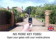 UK MADE GSM ELECTRIC GATE OPENER  - ACCESS CONTROL FROM YOUR MOBILE