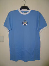 Bnwt Manchester City Retro 1972 Home SS Football Shirt