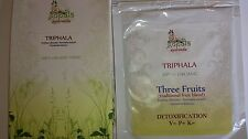 100% ORGANIC TRIPHALA CAPSULES POWDER Three Fruits Amalaki Haritaki Bibhitaki