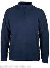 Mens Soft Touch Breathable Microfleece Mid Layer Spring Fleece Top 7 Colours NEW