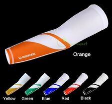 Cycling Golf Arm Sleeve Cover Warmers Guard UV Protection Outdoor Road MTB Bike