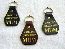 Mother's Day Gift Present Leather Keyrings School Fundraisers Stall Souveniers