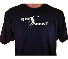 Got Snow? Skier Skiing Downhill Snow Winter Sport T-Shirt