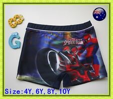 Boys Marvel Spiderman Blue SWIM Shorts Bathers Swimmers Swimsuit Trunks Togs Szs