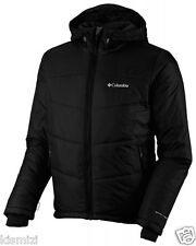 "NEW MENS COLUMBIA ""Shimmer Me Timbers II."" HOODED OMNI HEAT WINTER JACKET COAT"