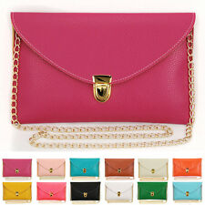 Womens Envelope Clutch Chain Purse Lady Handbag Tote Shoulder Hand Bag