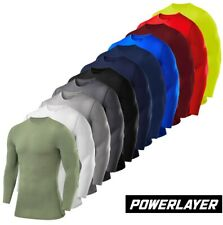 Mens Boys Body Armour Compression Baselayers Thermal Under Shirt Top Skins New