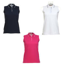 New GAMEGEAR Womens Ladies Golf Proactive Sleeveless Polo Shirt 3 Colours 8 - 20