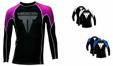 THROWDOWN MMA Workout Rash Guard LS T Shirt Grappling Jersey Thermal NWT