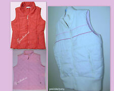 GARAGE IVORY ~NORTHERN REFLECTIONS PINK ~RICKI'S RED Women's PUFFER Vest NEW