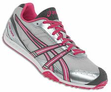 NEW Womens ASICS Gel Dirt Diva 3 Grey Pink XC Cross Country Track Spikes Shoes 8