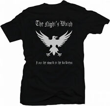 Game Of Thrones Inspired Nights Watch Sword In Darkness T shirt Tee Black Men