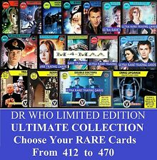 Choose Your Doctor Who Monster Invasion ULTIMATE LIMITED EDITION RARE CARDS