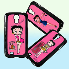 Betty Boop Personalised Mobile Phone Clip Case Cover Samsung Galaxy S4 Any name