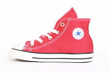7J232 CONVERSE RED KIDS INFANT CHUCK TAYLOR ALL STAR HI