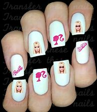 30 BARBIE NAIL ART DECALS STICKERS /TRANSFERS PARTY FAVORS MIX AND MATCH