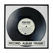 """Record Album Frame - Display Your Vinyl Records! 12.5"""" x 12.5"""" - Black or Silver"""